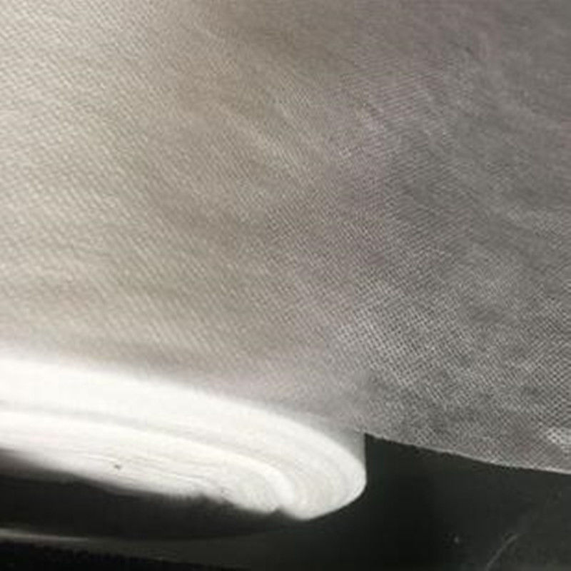 PVA Cold Water Soluble Non Woven Fabric Embossed Pattern For Embroidery